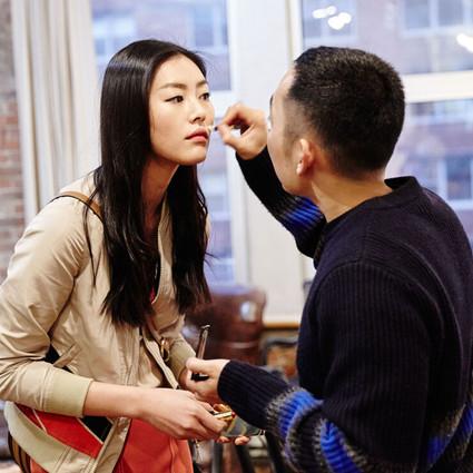 雅诗兰黛X何磊彩妆资讯第一期 #玩转时装周 刘雯教你美