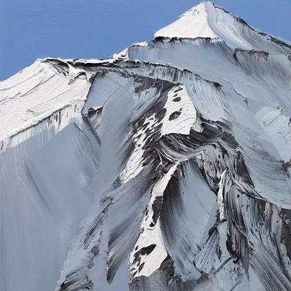 做了二十年的摄影师突然转行画起了山