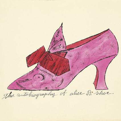安迪・沃霍尔设计手稿被拍卖:追忆逝去的鞋子
