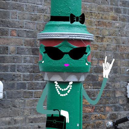 街头doodles:谁说城市没意思?!