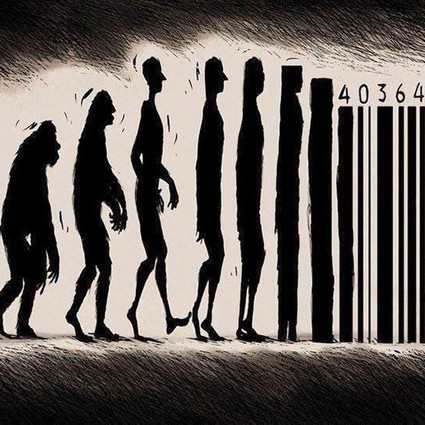 社会进化漫画告诉你,咱们究竟是高级了还是退化了?