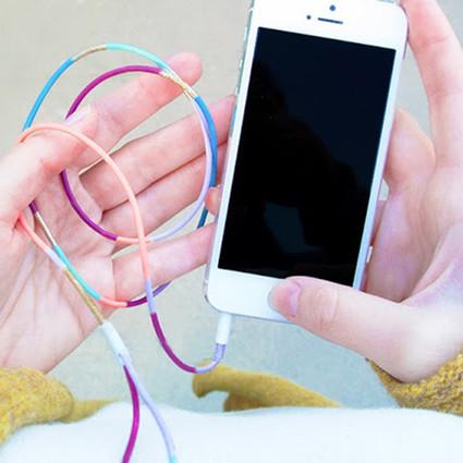 创意DIY不一样的耳机线