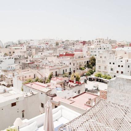 摩洛哥除了蓝色小镇,还有粉色小镇,叫色彩王国一点不过分