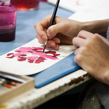 当法国印花邂逅东方花卉,Leonard Paris的设计简直浪漫死了!