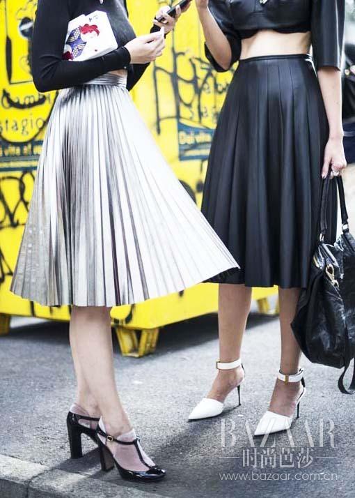 pleated-skirts-street-style