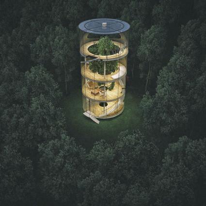 这也许是你见过的最美的林中小屋