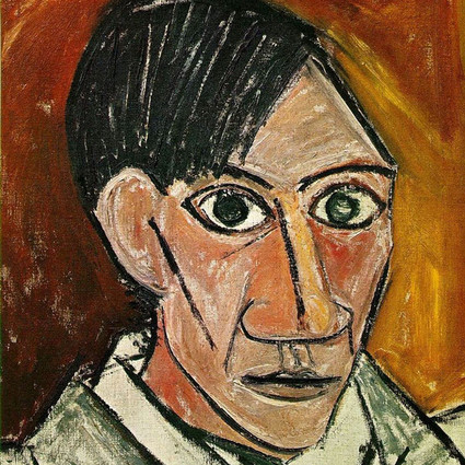 10张毕加索的自画像,带你看清从18岁到90岁的他