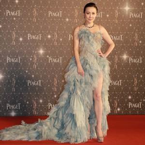 刘嘉玲文咏珊齐开叉,一个赢了气场,一个夺得最性感红毯奖