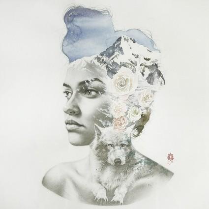 水彩画也能多重曝光?Oriol Angrill Jordà的水彩摄影时代