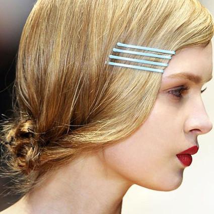用五毛钱发卡打造时髦爆炸的头发造型,这么划算你还不get起来?