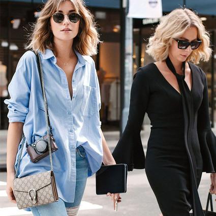 除了白衬衣,你还需要一件百搭的时髦蓝衬衣!