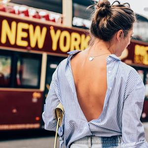 满大街的白衬衫太无聊,天空蓝衬衫才时髦