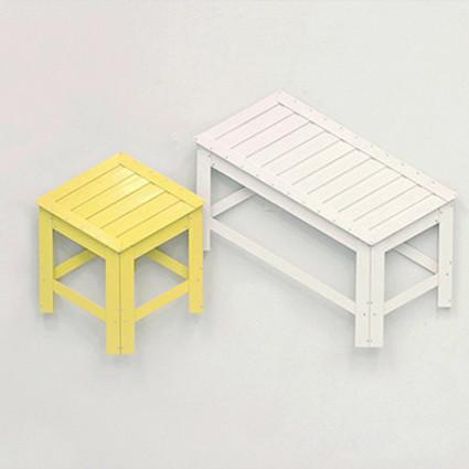 """这些凳子太像""""画""""了,直接贴上墙!"""