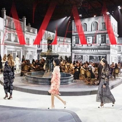 Chanel把罗马高级手工坊搬到了北京!春春和姚晨为了秀也是够拼!