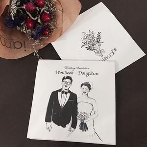 想要拥有独一无二的婚礼邀请函,here we go