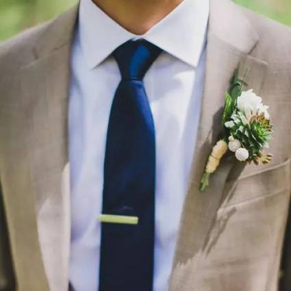 别致襟花,男人衣领上的点睛小物