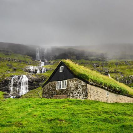 这些斯堪迪纳维亚的绿植小屋,让你开启童话世界大门