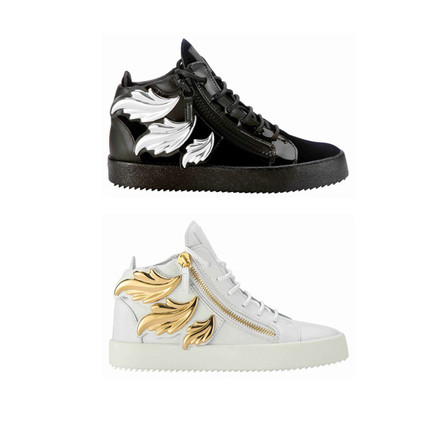 Fly High with Giuseppe Zanotti Design 经典重译 Fire-Wing系列