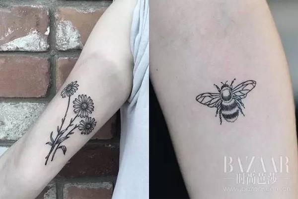 一键收藏小清新纹身贴,想纹身又怕疼的妹子快点开看