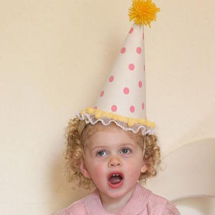 旧的纸艺派对帽子如何华丽变身布艺派对帽