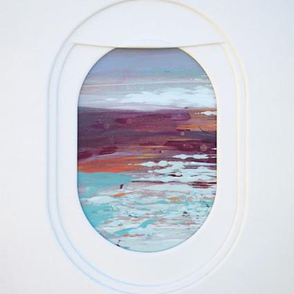 你坐的飞机看到的是什么样的景