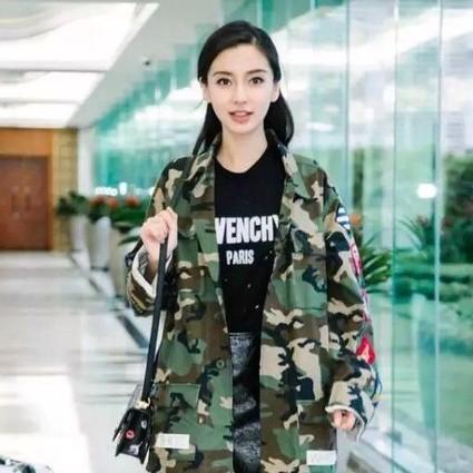 baby迷彩外套帅出天际,孙俪、袁姗姗同穿粉裙一个甜美一个性感!