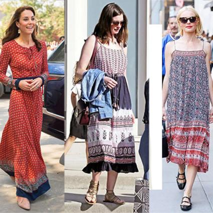 凯特王妃、安妮海瑟薇的连衣裙真心美到炸啊,我立马找来了同款