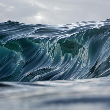 海浪还是山峦?WarrenKeelan油画般的风光照