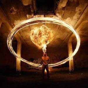 玩火不一定自焚,看他们如何用火玩出艺术!