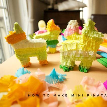 So fun !DIY一匹快乐的彩色装饰小马