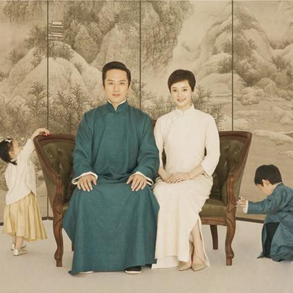 邓超孙俪结婚五周年,最难割舍的亲情永远不翻船!