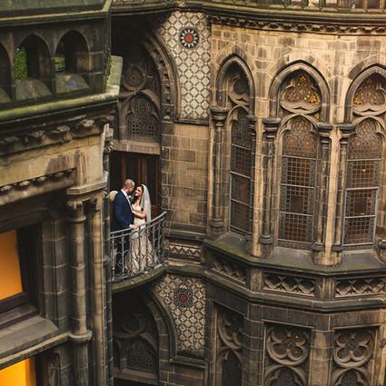 一场魔幻的哈利波特主题婚礼,见证浪漫奇特的爱情