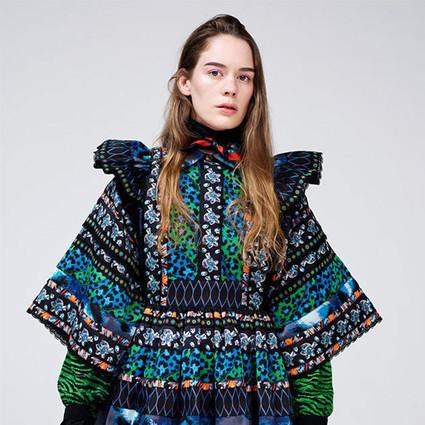 歌手Anna of the North独家演绎KENZO x H&M设计师合作系列最新造型