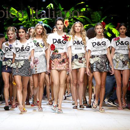 Dolce&Gabbana用91套时装拴住了我的味蕾,放假一起去意大利捡贝壳吃雪糕吧!
