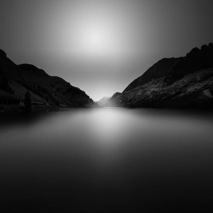 让人沉静到骨子里的黑白摄影作品