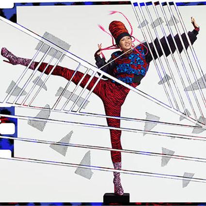 由JEAN-PAUL GOUDE执导的KENZO x H&M设计师合作系列广告片首波造型照曝光