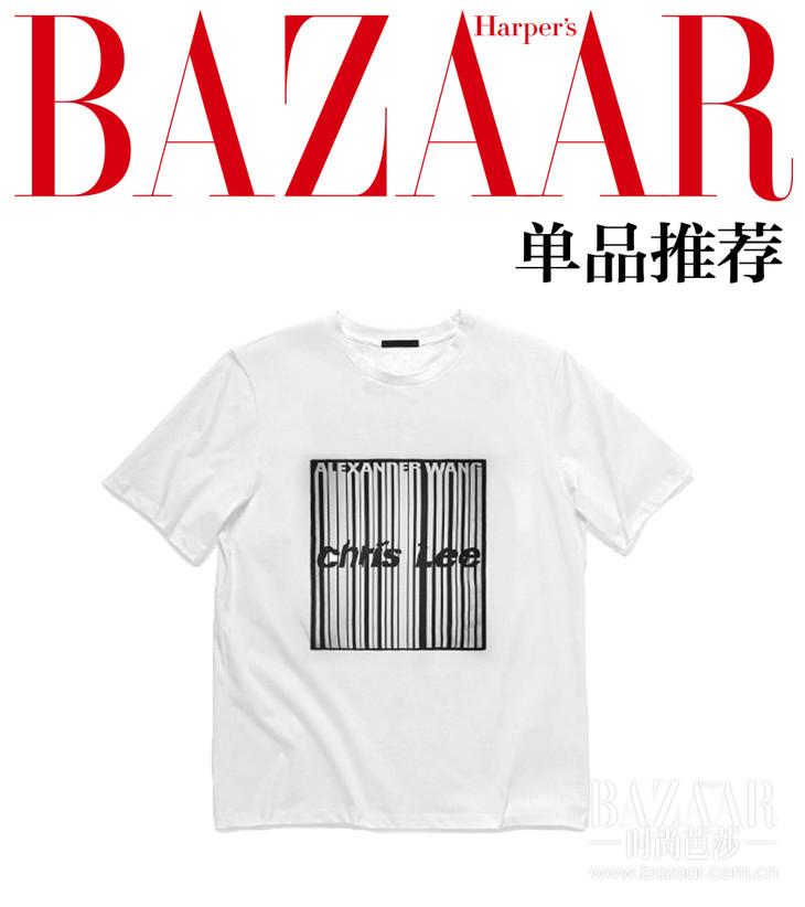 Alexander Wang × Chris Lee限量合作款T恤