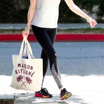 夏天出门别那么麻烦,时髦不贵的环保购物袋让你怎么搭都时髦!