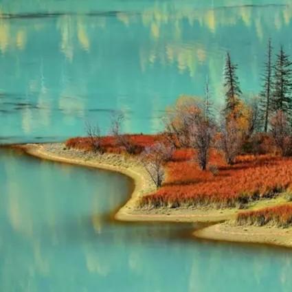 藏在西北最顶端、北冰洋流域的神秘地带,再次刷新了国内金秋的颜值!