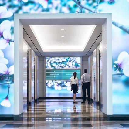 巨幕动态媒体墙,让office每天换新颜