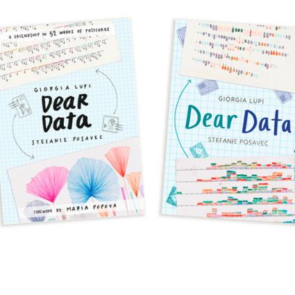 [Dear Data 亲爱的数据] 终于出书啦!