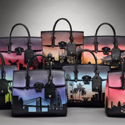 VERSACE「 7 Bags For 7 Cities 七城七袋 」展览活动