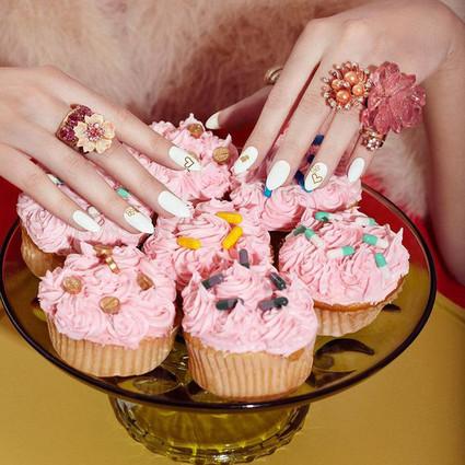 """把各路美食做到指尖上,吃货们的美甲这样做才够""""味""""!"""