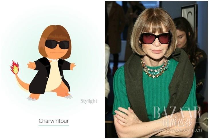 Charwintour:Anna Wintour as Charmander