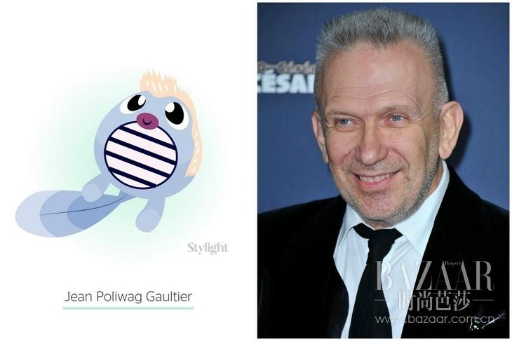 Jean Poliwag Gaultier:Jean Paul Gaultier as Poliwag