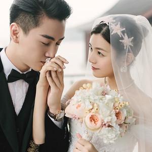 """卡地亚陪""""神雕侠侣""""走过幸福时刻:陈晓陈妍希大婚"""