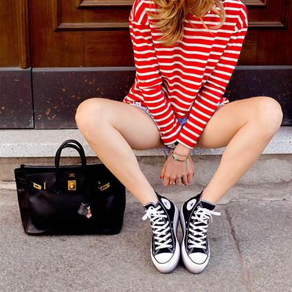 最美好的青春不就是匡威和牛仔裤,一穿上就像回到了学生时代!