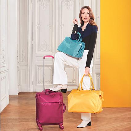 法国品牌Lipault 发布2016秋冬新品:明快彩色点亮冬日心情