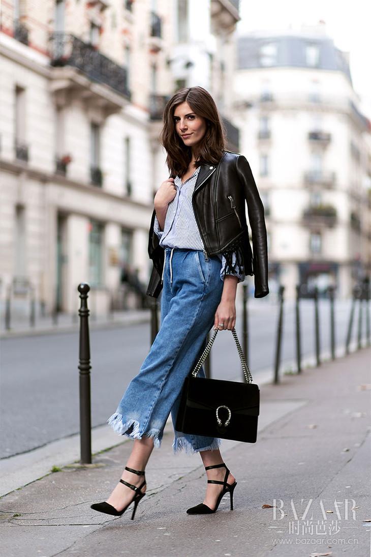 皮衣和牛仔裤3