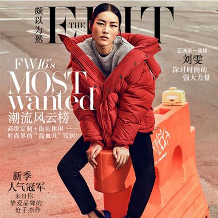 刘雯作客NET-A-PORTER电子周刊The EDIT《颇以为然》